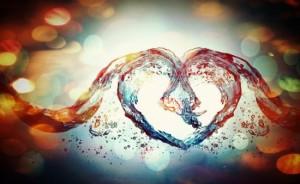 absztrakt szeretet
