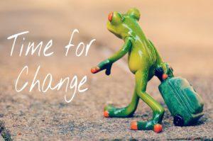 Itt az idő a változásra