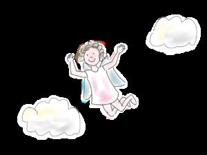 felhőcske, lényecske