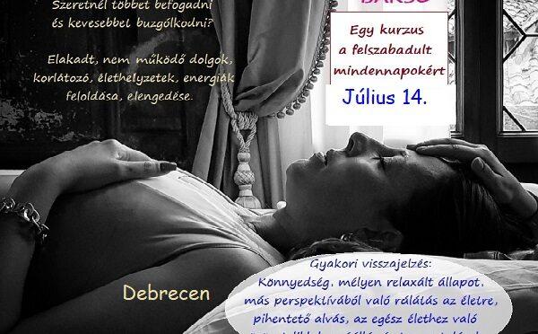 Gyengéd érintés Bars kurzus Debrecenben