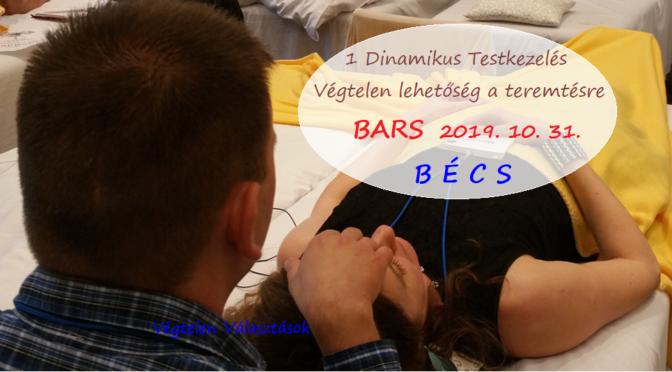 Finom érintés Bars kurzus Bécsben Tibivel és Mónikával